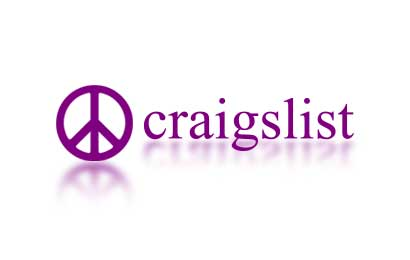 The logo and banner of Craigslist